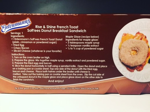 Entenmanns French Toast Soft'ees