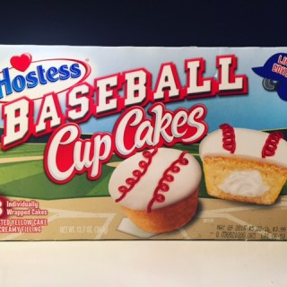 Hostess Baseball Cupcakes