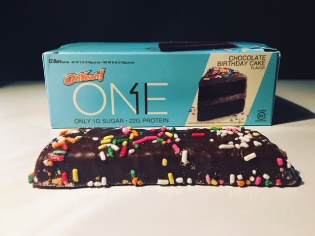 ONE Birthday Cake Bar Health Food Reviews