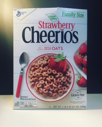 General Mills Strawberry Cheerios