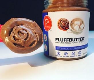 D's Naturals Cocoa Glazed Cinnamon Roll Fluffbutter