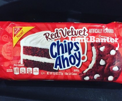 Red Velvet Chips Ahoy! Cookies