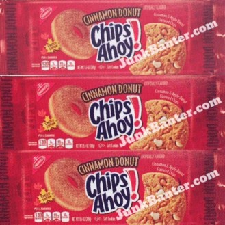 Nabisco Cinnamon Donut Chips Ahoy!