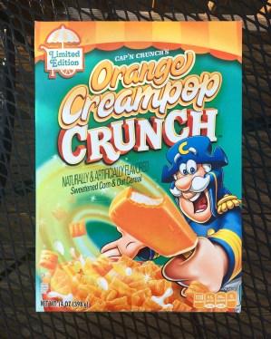 Cap'n Crunch's Orange Creampop Crunch