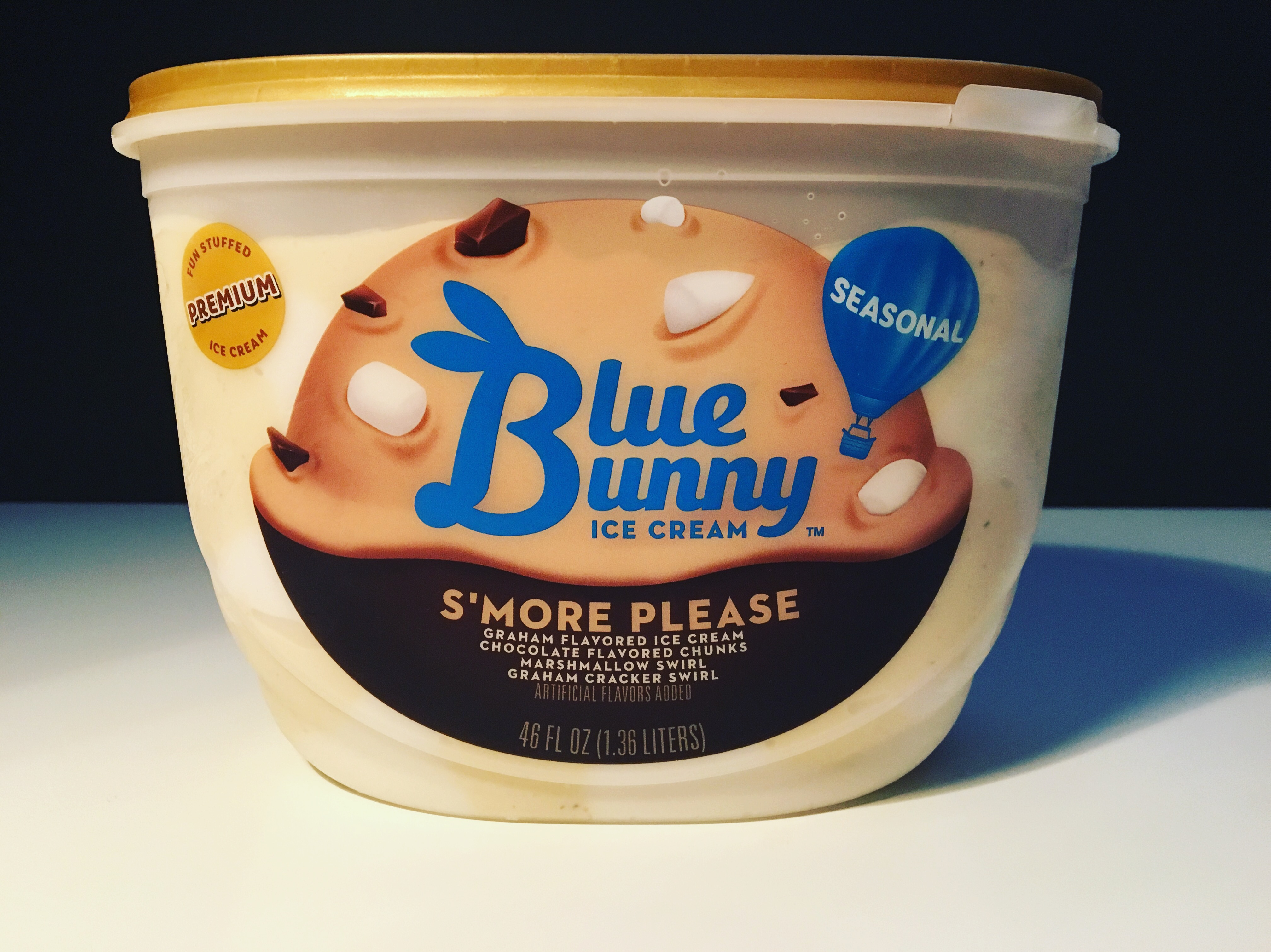 REVIEW Blue Bunny Smore Please Ice Cream