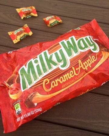 Milky Way Caramel Apple