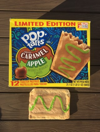 Kellogg's Frosted Caramel Apple Pop Tarts