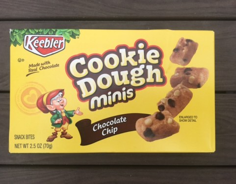 Keebler Cookie Dough Minis Chocolate Chip
