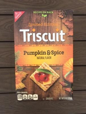 Nabisco Pumpkin & Spice Triscuit