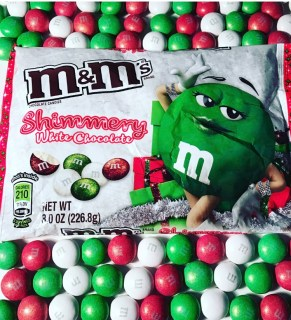 Shimmery White Chocolate M&M's