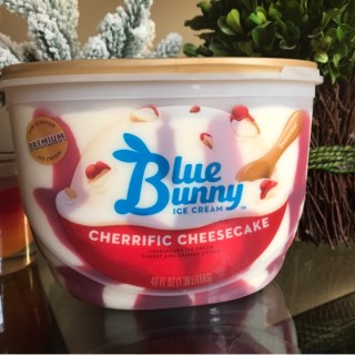 Blue Bunny Cherrific Cheesecake Ice Cream