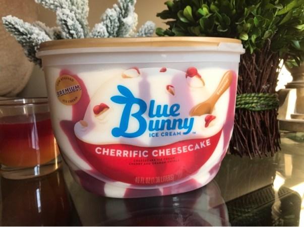 Blue Bunny Cherrific Cheesecake Ice Cream