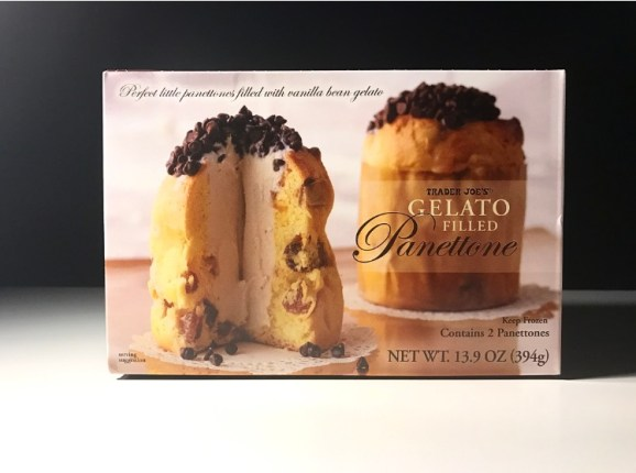 Trader Joe's Gelato Filled Pannettone