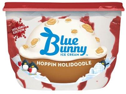 Blue Bunny Hoppin Holidoodle