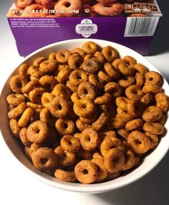 General Mills Girl Scouts Caramel Crunch
