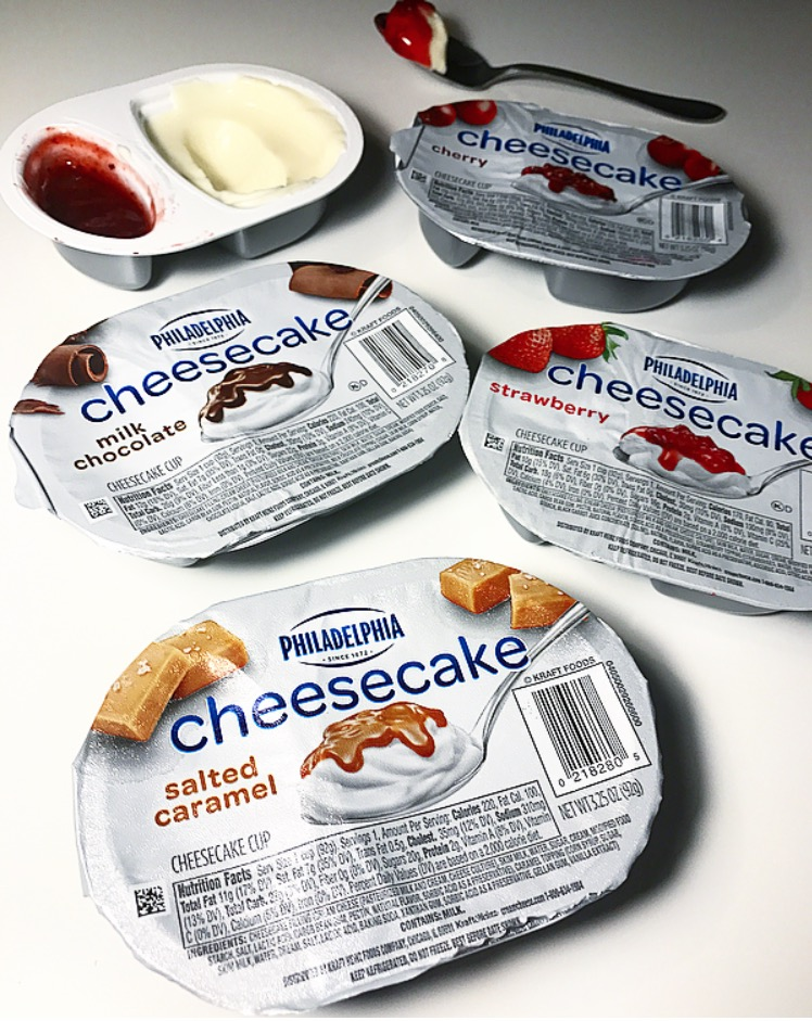 philly cheesecake cups