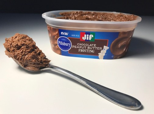 Pillsbury JIF Chocolate Peanut Butter Frosting