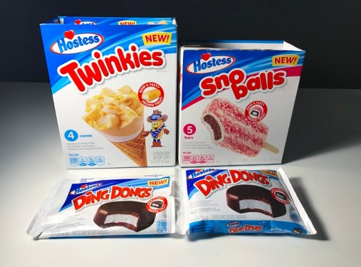Hostess Ice Cream Novelties