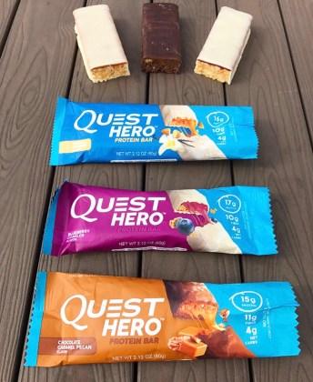 Quest Hero Bars