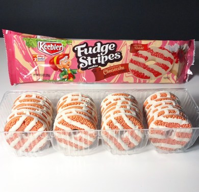 Keebler Strawberry Cheesecake Fudge Stripes