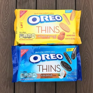 Nabisco Salted Caramel Oreo Thins & Coconut Oreo Thins