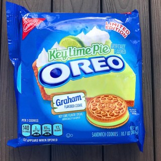 Nabisco Key Lime Pie Oreos