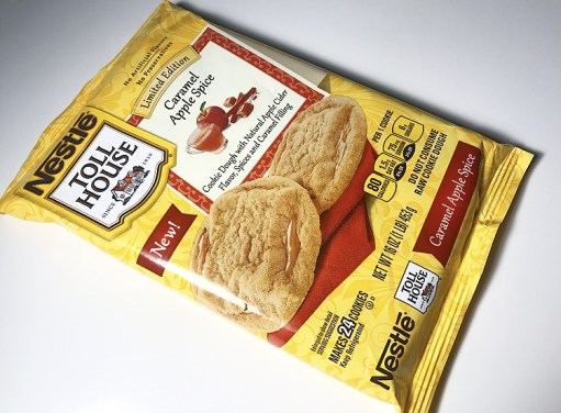 Nestle Toll House Caramel Apple Spice Cookies