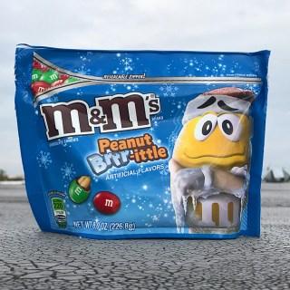 Peanut Brrr-ittle M&M's