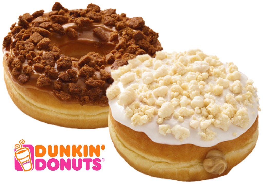 REVIEW (x2): Dunkin' Donuts Sugar Cookie Donut and Gingerbread Cookie Donut