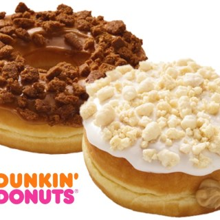 Dunkin' Donuts Sugar Cookie Donut & Gingerbread Cookie Donut