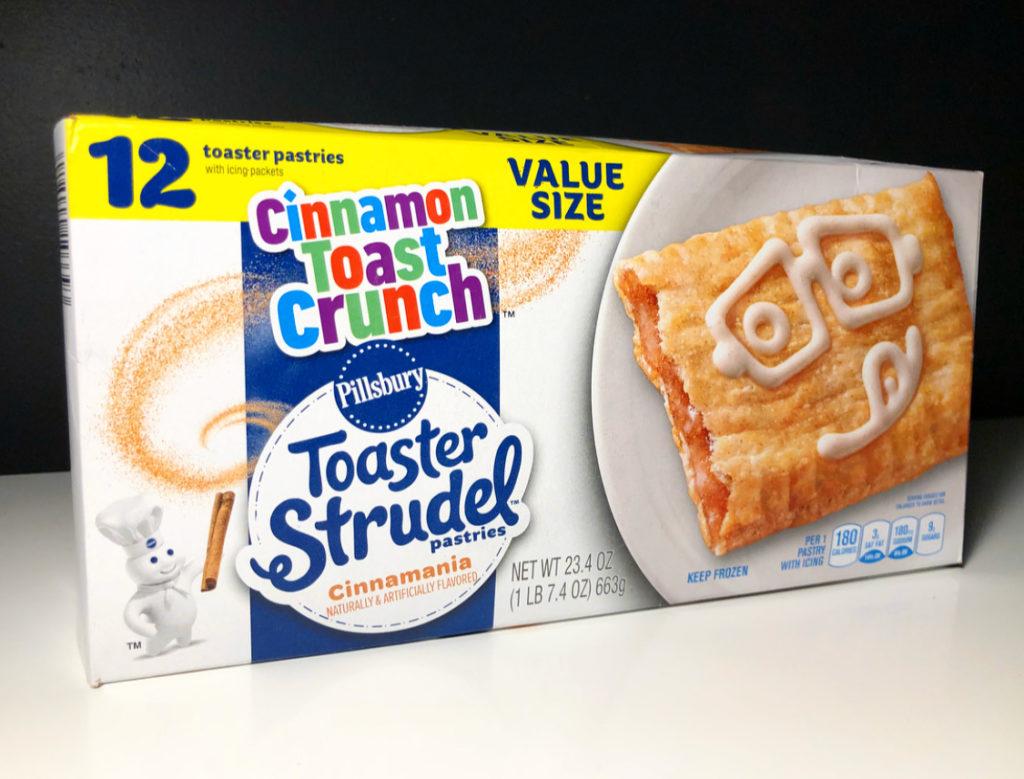 REVIEW: Pillsbury Cinnamon Toast Crunch Cinnamania Toaster ...