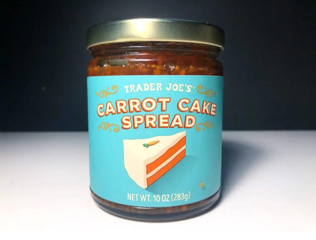 REVIEW: Trader Joe's Carrot Cake Spread
