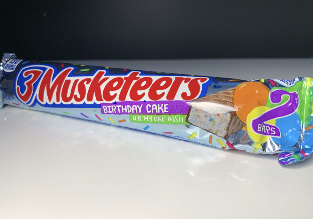 REVIEW 3 Musketeers Birthday Cake