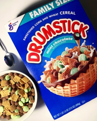 General Mills Nestle Drumstick Cereal (Mint Chocolate)