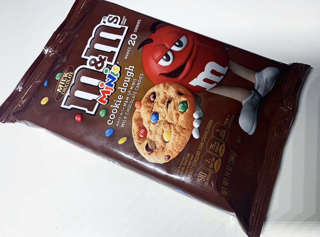 Review Milk Chocolate M M S Minis Cookie Dough Junk Banter