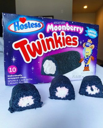 Hostess Moonberry Twinkies