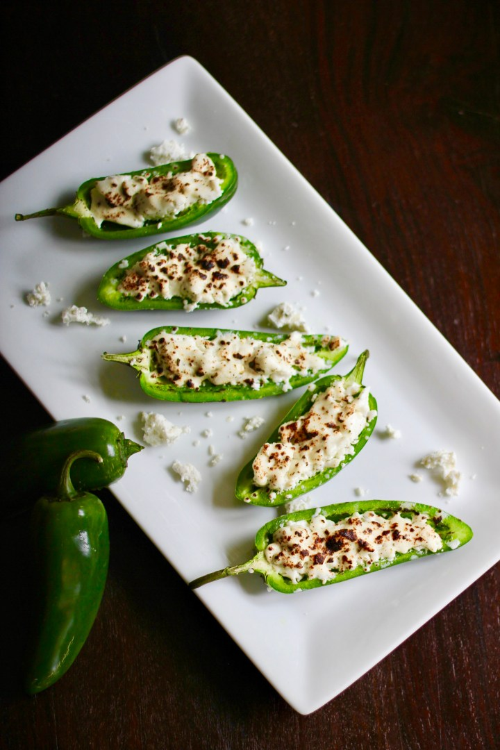 Goat Cheese Jalapeño        Poppers