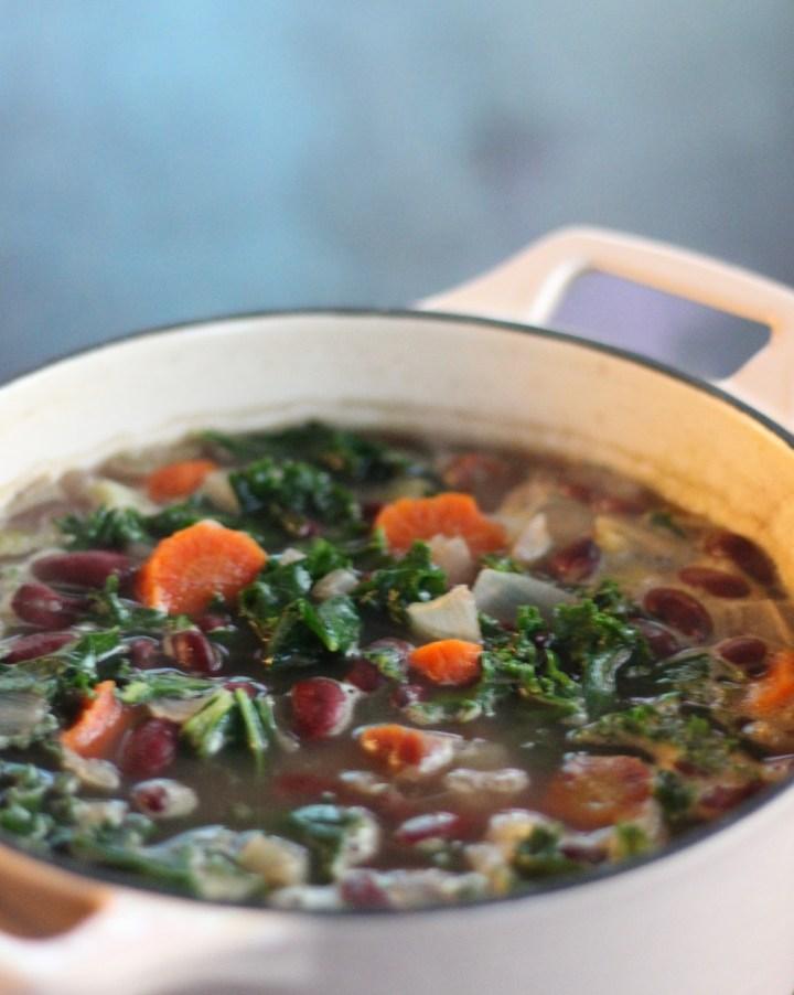 Red Bean Kale Soup