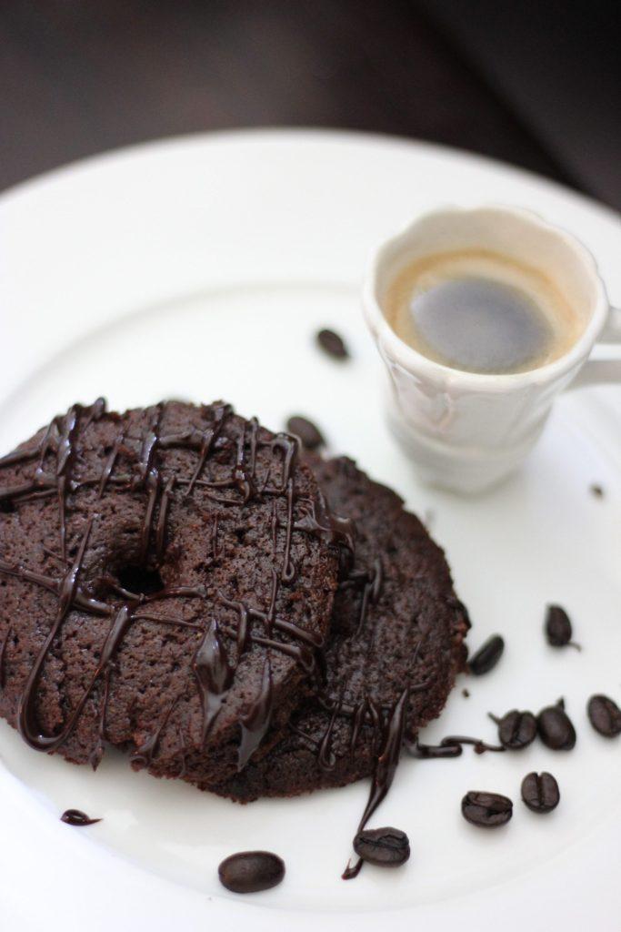 Rosquinhas de café com chocolate