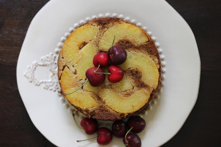 Pineapple Upside-Down Cake (Gluten-Free​​)