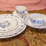 Vintage Arcopal France Dinner Set Junk Mail