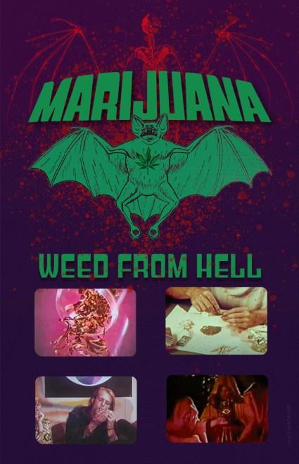 Horror Marijuana Poster