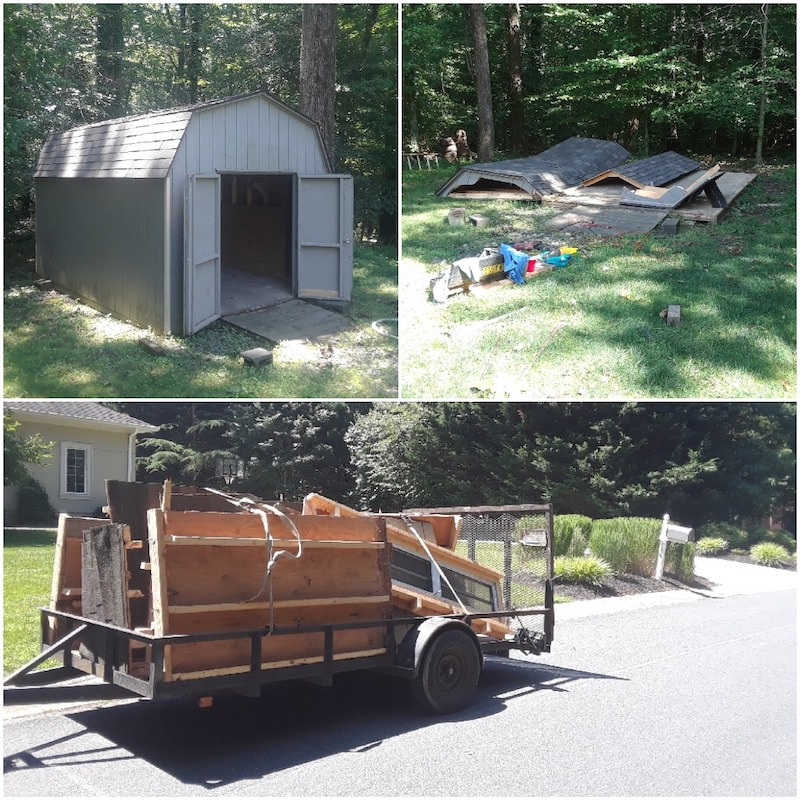 shed removal annapolis md