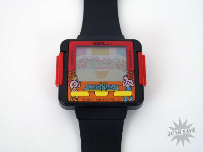 WWF Superstars Wristwatch Video Game By Tiger JunkSave