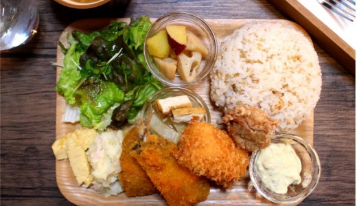 大須商店街・大須食堂MEEKほっこり手作り盛りだくさん過ぎのランチプレート