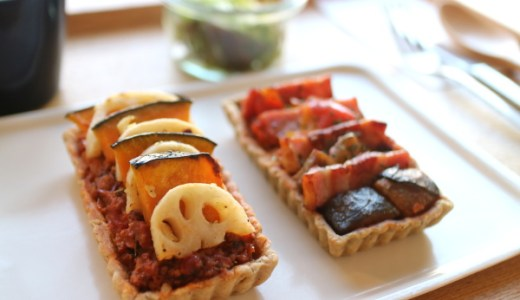 数量限定『お惣菜タルトのランチ』がうまい!大須「キューム カフェ エア」メニューの種類は?