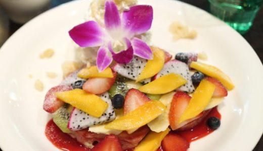 『アロハテーブル』フルーツたっぷりハワイアンパンケーキが豪華!金山アスナル