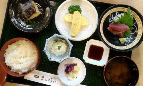 大須『磯料理 まるけい』和定食ランチが安くてうまい!洋風しんじょがおすすめ
