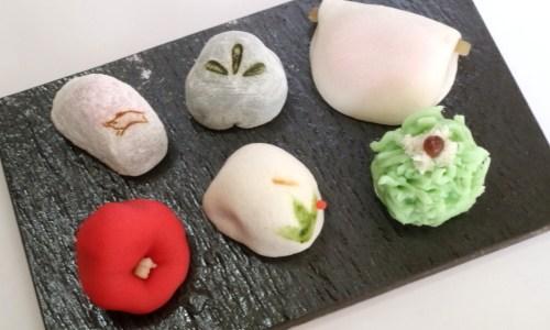 名古屋・栄 創業300年『川口屋』のお正月和菓子6点