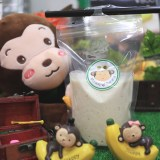 激レア!『国産バナナジュース』が飲める?!名古屋・大須「モンキーバナナ」お味は?値段は?